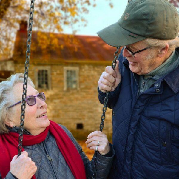 para starszych osób